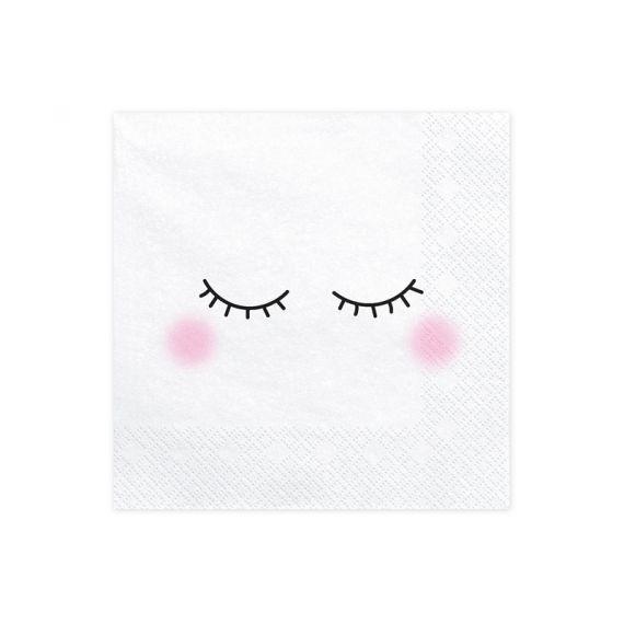 Serviettes motifs yeux