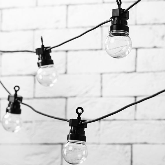 Guirlande guinguette lumineuse LED