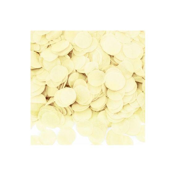Confettis ivoire
