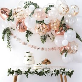 Guirlande de ballons en kit - Rose Gold