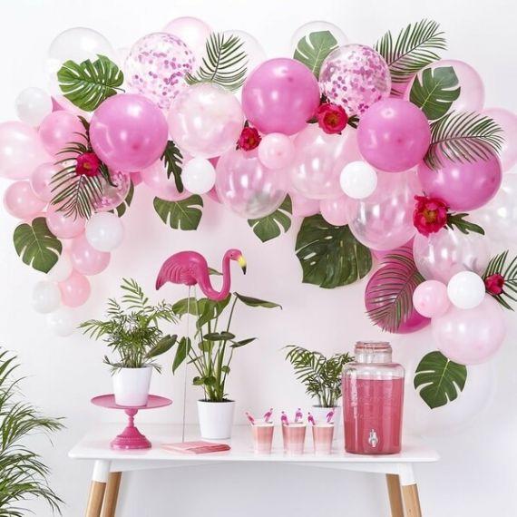 Arche de ballons en kit - Rose Fuchsia
