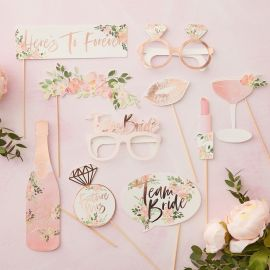 Kit photobooth EVJF - rose gold