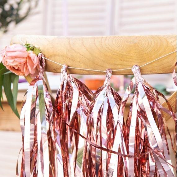Guirlande tassel rose gold