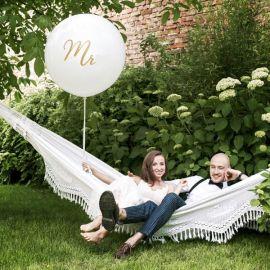 Ballon géant mariage MR - or