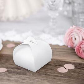 Boîtes cadeaux invités - blancs (par 10)