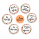 Badges EVJF et mariage collection bohème