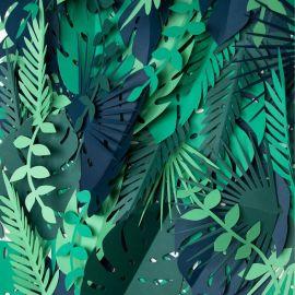 Décoration de feuilles tropicales (par 21)