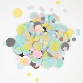 Confettis pastel - 3 tailles