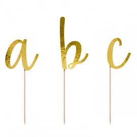 Cake topper alphabet - or