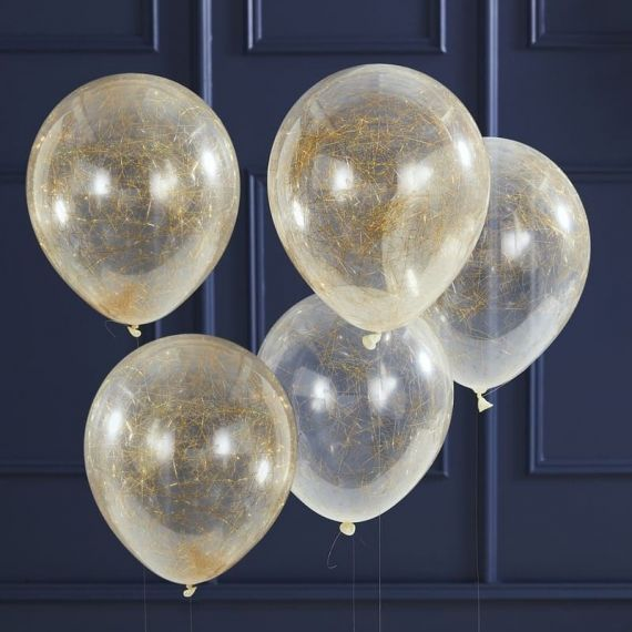 Ballons confetti heveux d'anges