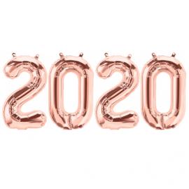 Ballons 2020 - Rose gold