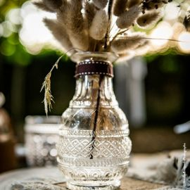 Vase ancien transparent