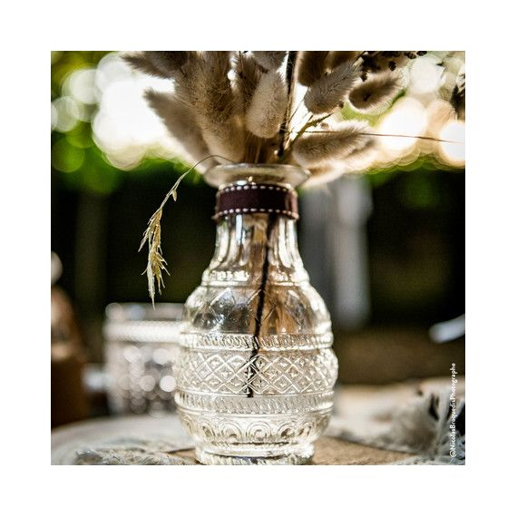Vase ancien transparent