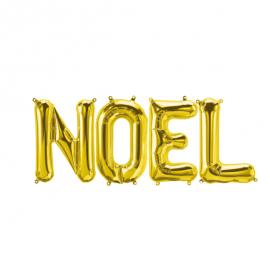 Ballons mylar NOEL - Or