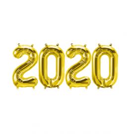Ballons 2020 - gold