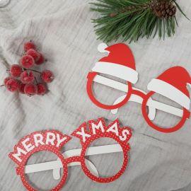 Photobooth lunettes de Noël
