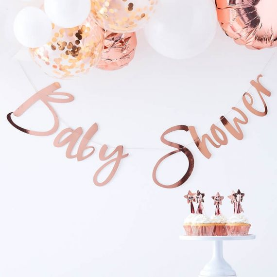 Guirlande baby shower