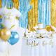 Gobelets blancs et gold (par 6)