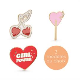Pin's girly Badge EVJF