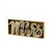 Inscription Mr & Mrs en bois