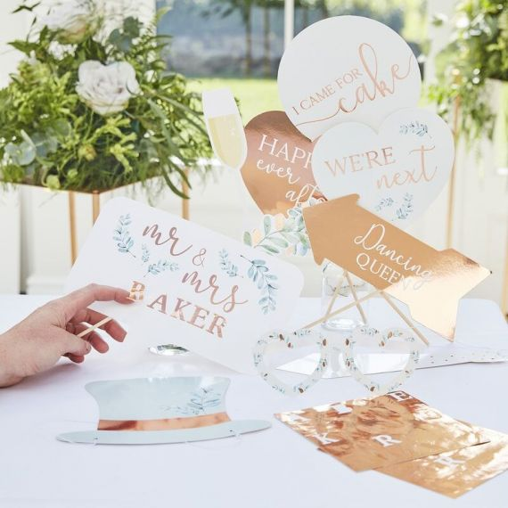 Photobooth mariage Personnalisable - Rose gold