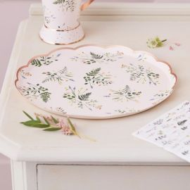 Assiettes jetables Liberty (par 8)
