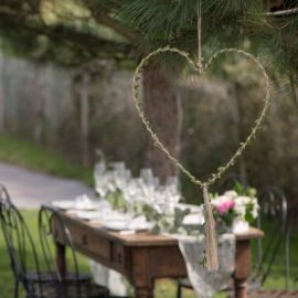 déco de mariage champetre