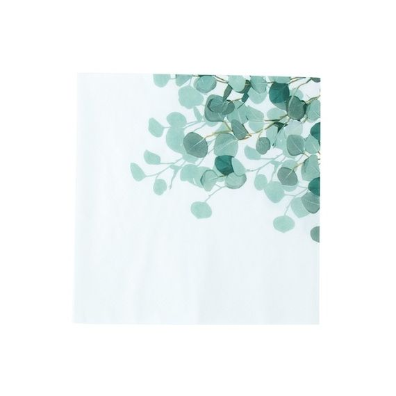 Serviettes eucalyptus x16