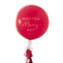 Ballon confetti Demande en mariage