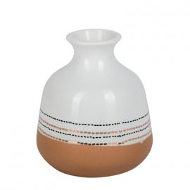 Vase jarre terracotta