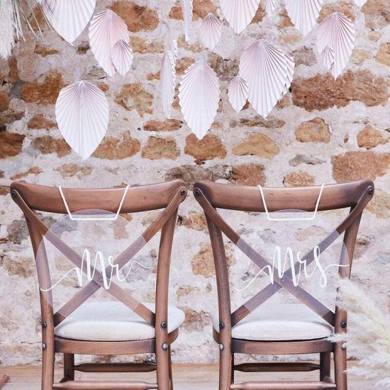 Décoration de chaise