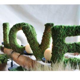 Lettre love en mousse 20 cm