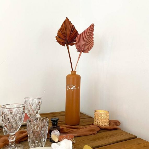 Vase bouteille terracotta - grand modèle