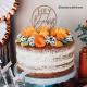 Cake Topper Hey Baby