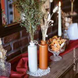 Bouteille vase terracotta - petit modele