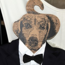 Cintre chien - Monsieur
