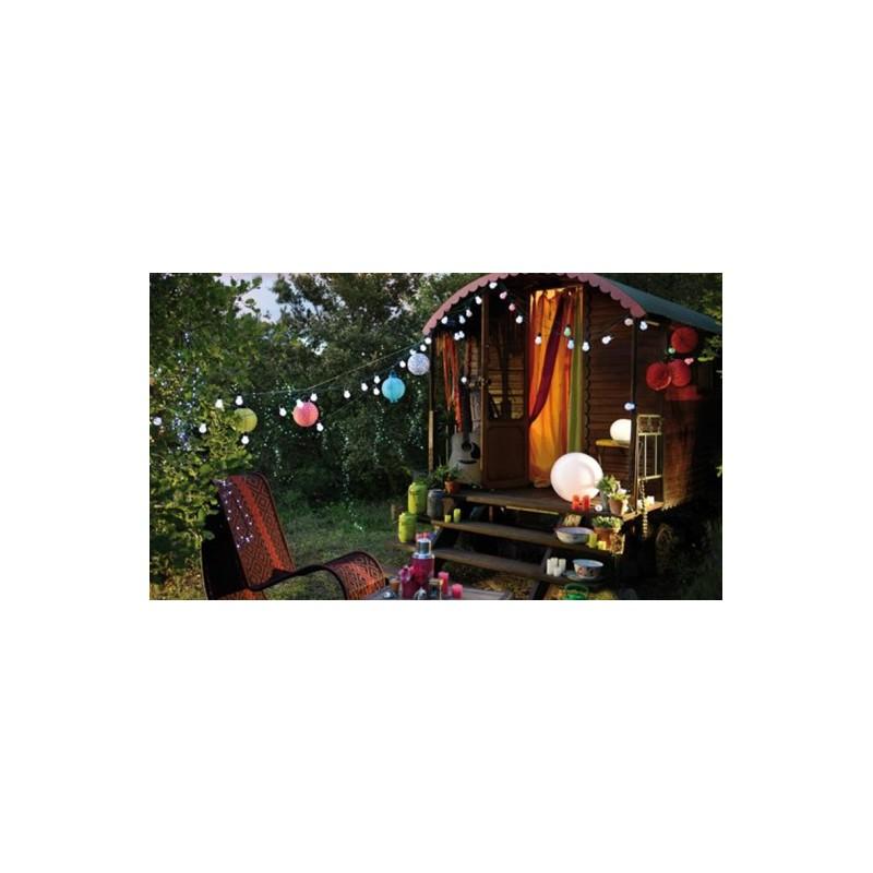 guirlande guinguette mariage. Black Bedroom Furniture Sets. Home Design Ideas