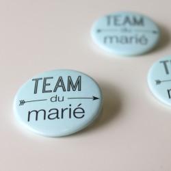 Badges mariage et EVJH - team du marié (par 4)