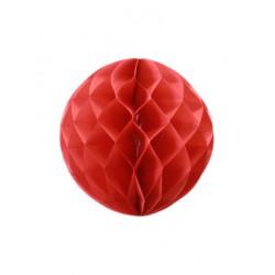 Boule alvéolée - rouge
