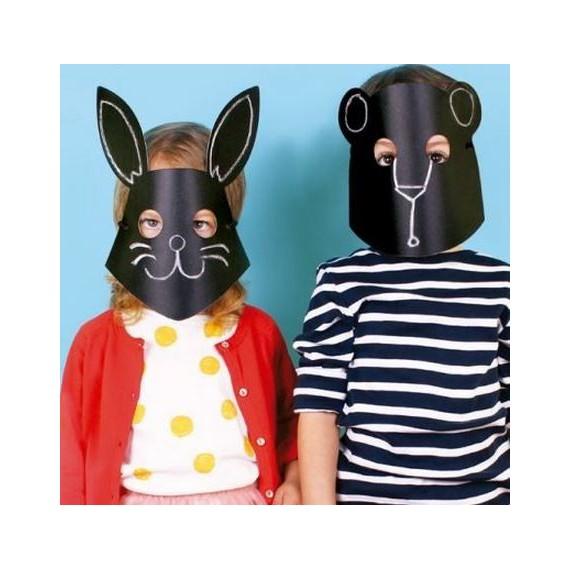 Masque animaux (par 8)