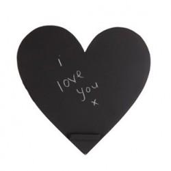 Ardoise cœur pour photobooth