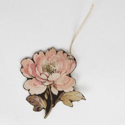 Etiquettes fleur vintage (par 6)