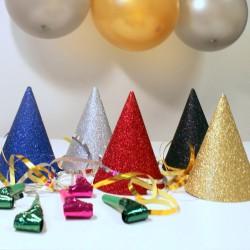 kit fête glitter (5 personnes)