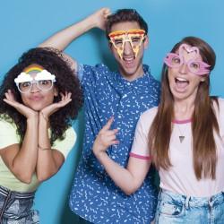 lunettes crazy (par 10)
