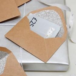 Enveloppes spéciales fête (par 4)
