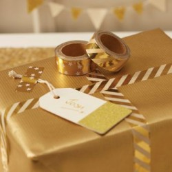 Masking tape doré (par 2)