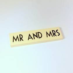 Signalétique Mr & Mrs