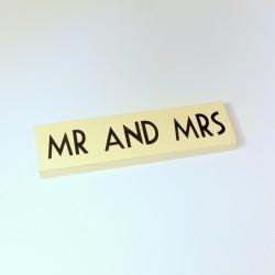 Signalétique Mr & Mrs