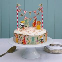 Déco de gâteau animaux