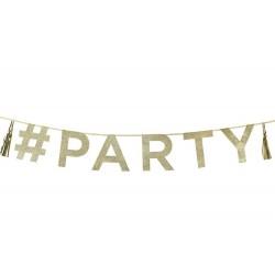 Guirlande glitter Party